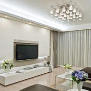 朴实欧式客厅电视墙装修