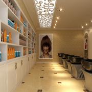 大气欧式美发店装修设计