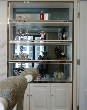 极致奢华的欧式酒柜装修效果图鉴赏