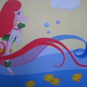 新颖幼儿园壁画设计
