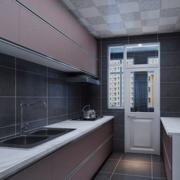 时尚厨房橱柜装修设计