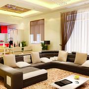 经典客厅沙发背景装修设计