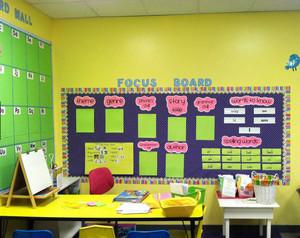 精美幼儿园教室布置设计