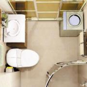 卫生间背景墙图