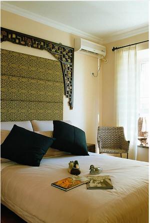 东南亚小卧室窗帘装修效果图