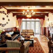 精致的客厅窗帘图