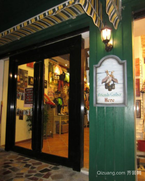 70平米 美式复古风格 服装店 装修 效果图高清图片