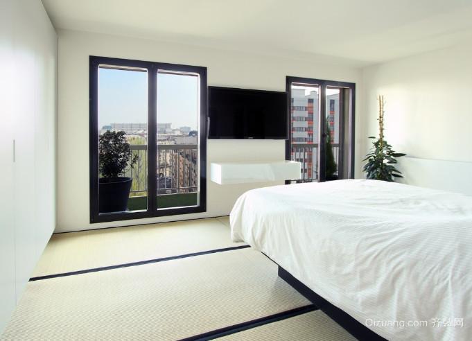 2015全新50平米简欧风格卧室装修效果图