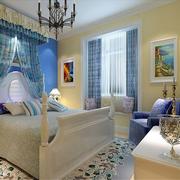 现代卧室背景墙图