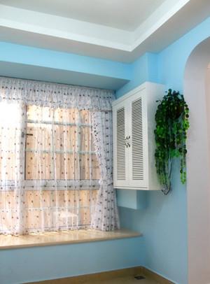 独具匠心的阳台飘窗窗帘设计效果图鉴赏