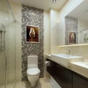 卫生间设计背景墙图