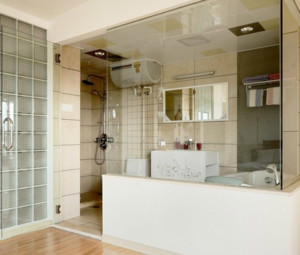 2015三室一厅小浴室装修效果图