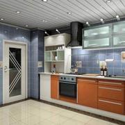 现代厨房设计图