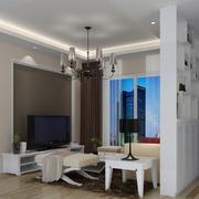 现代客厅吊顶图