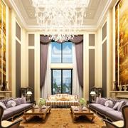 精致的的客厅色调搭配