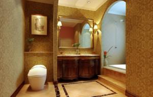 浪漫的法式卫生间设计装修效果图鉴赏