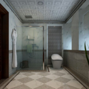 现代卫生间地板图