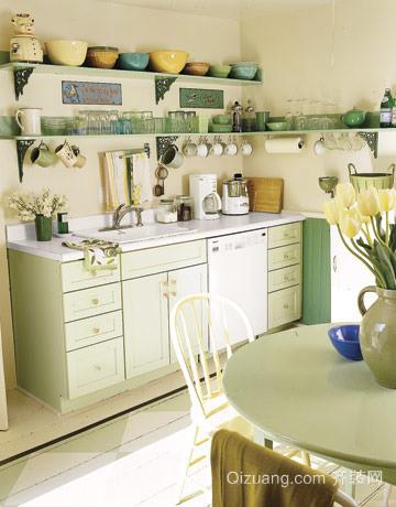 80后酷爱的10款创意开放式厨房装修效果图