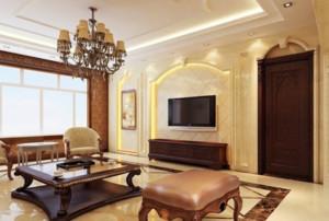 唯美的客厅造型图