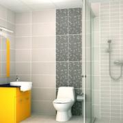 卫生间瓷砖背景墙设计