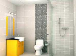 现代工艺 时尚的卫生间隔断设计效果图欣赏