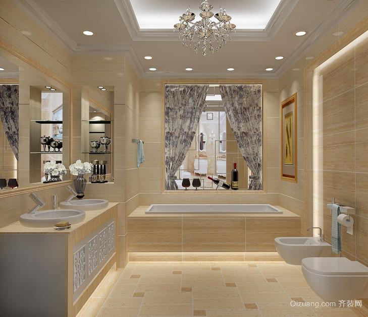 2015大户型马可波罗瓷砖卫生间装修效果图