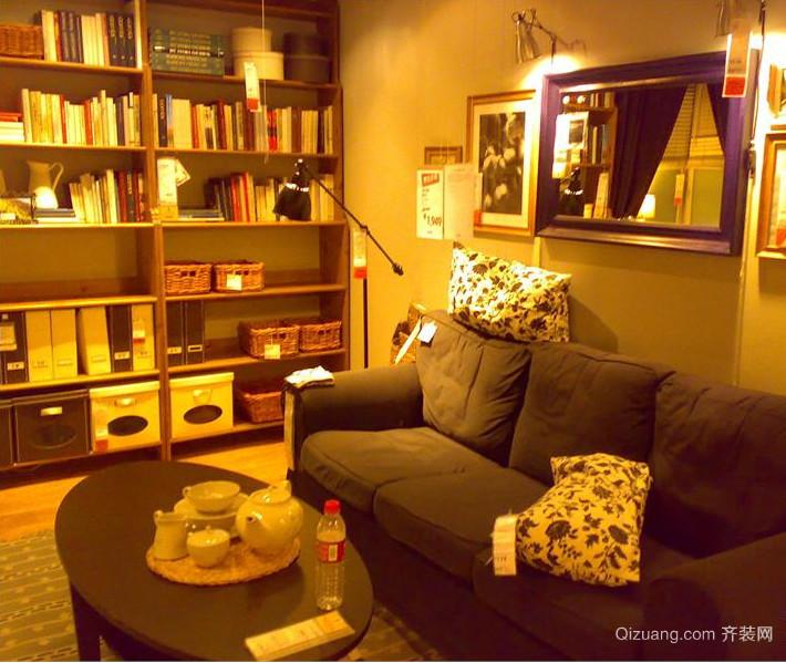 别具一格的大户型宜家欧式客厅装修效果图
