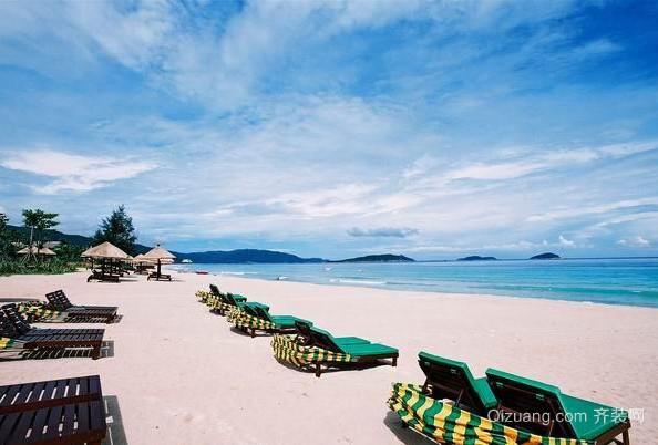 唯美五星级度假沙滩主题酒店装修效果图