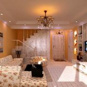 客厅楼梯设计图