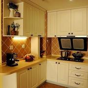现代厨房色调搭配
