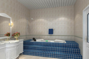 清爽舒适的卫生间装修设计效果图鉴赏