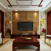 客厅背景墙灯光设计