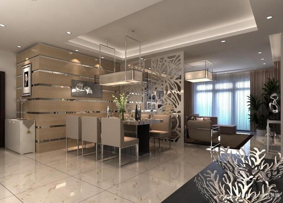 美式客厅 移动 玻璃 隐形门 装修效果图 齐装网装
