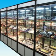 现代展示柜造型图