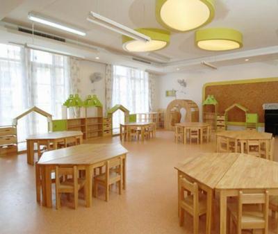 亲子幼儿园教室内布置装修设计效果图