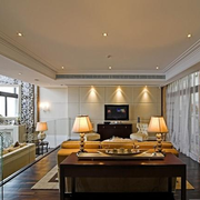 卧室客厅灯光设计