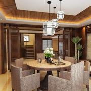 精致的现代餐厅造型图