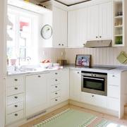 纯色调厨房设计