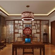 客厅博古架设计