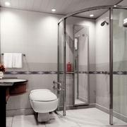 精致的浴室灯光设计