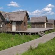 经典木屋实景图