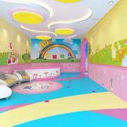 幼儿园背景墙造型图