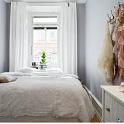 纯色调窗帘设计图