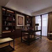 书房飘窗设计图
