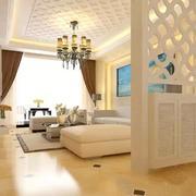 现代客厅设计图