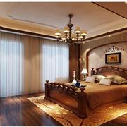 唯美卧室窗帘设计
