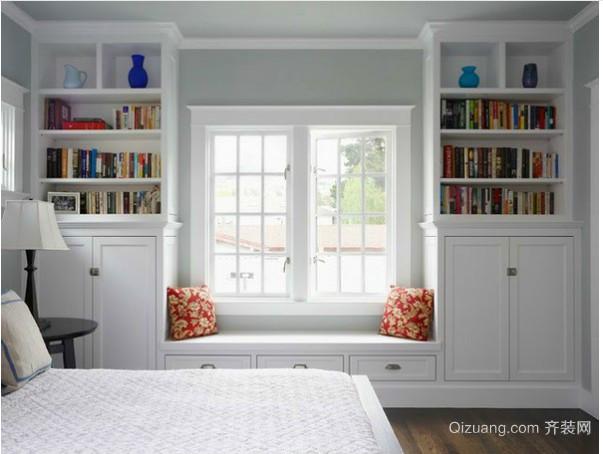 北欧小卧室窗帘装修效果图