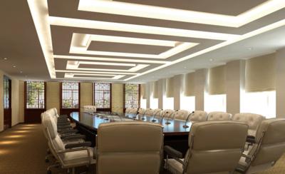 大企业次会议室装修设计效果图