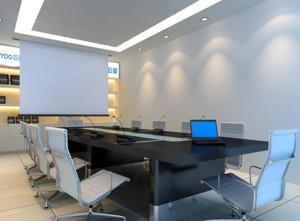小企业时尚小型会议室装修设计效果图