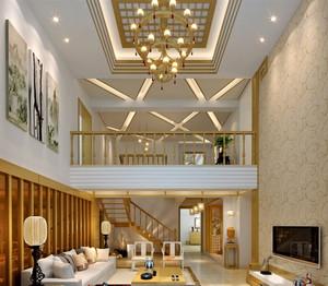 2015豪华型别墅楼中楼装修效果图